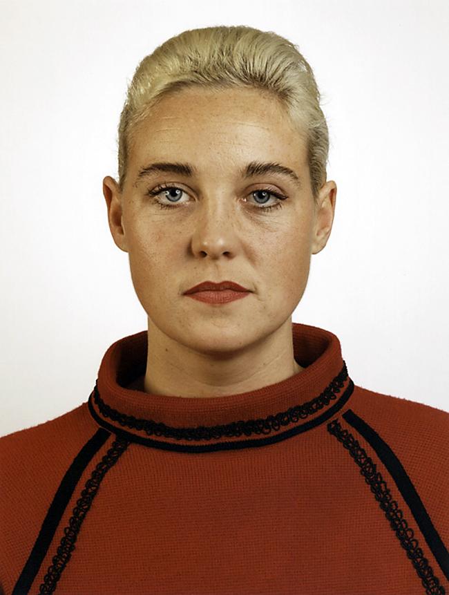 Thomas Ruff(German, b. 1958) 'Portrait (S. Weirauch)' 1988
