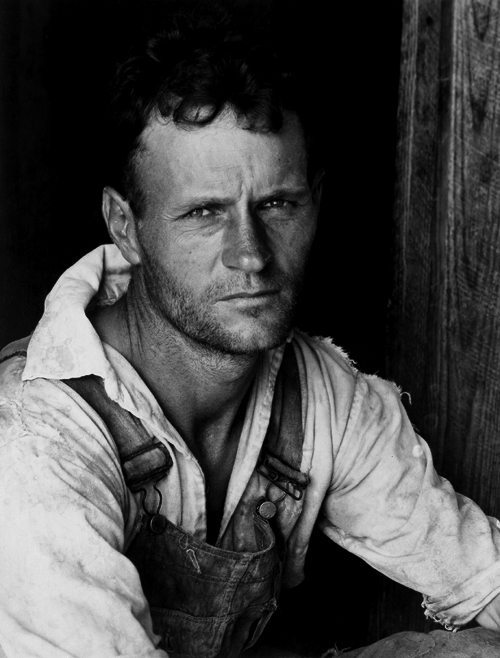 Walker Evans. 'Alabama Tenant Farmer' 1936