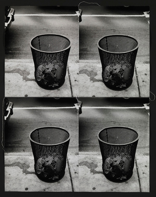 Andy Warhol. 'Trash cans' 1986