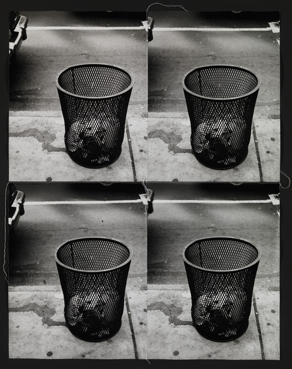 Andy Warhol. 'Trash cans' 1986
