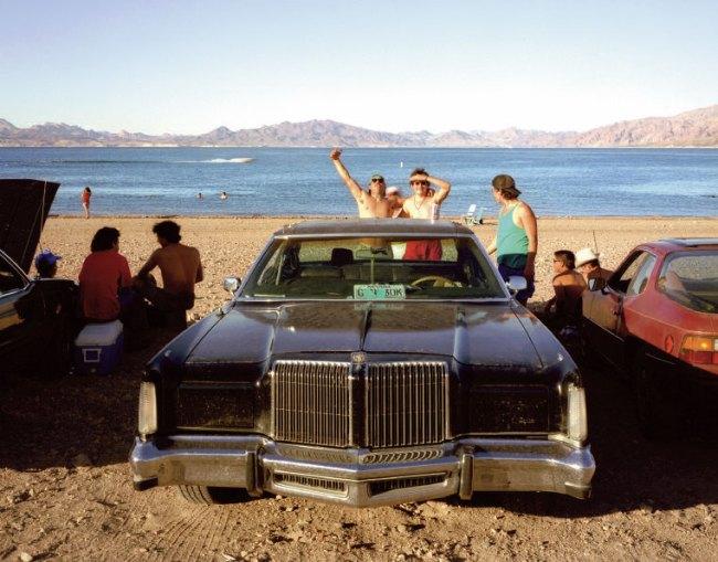 Karen Halverson. 'Boulder Beach, Lake Mead, Nevada' from the 'Downstream' series 1994-95