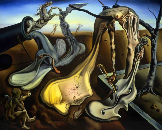 Salvador Dalí. 'Daddy Longlegs of the evening - Hope!' 1940