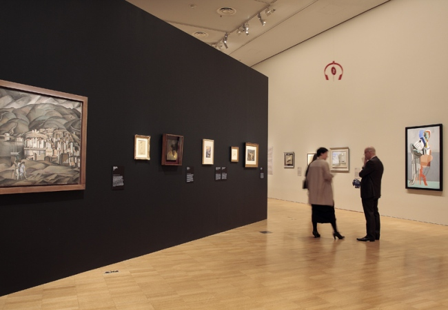 Early work from the 'Salvador Dali: Liquid Desire' Winter Masterpieces exhibition at NGV International, Melbourne