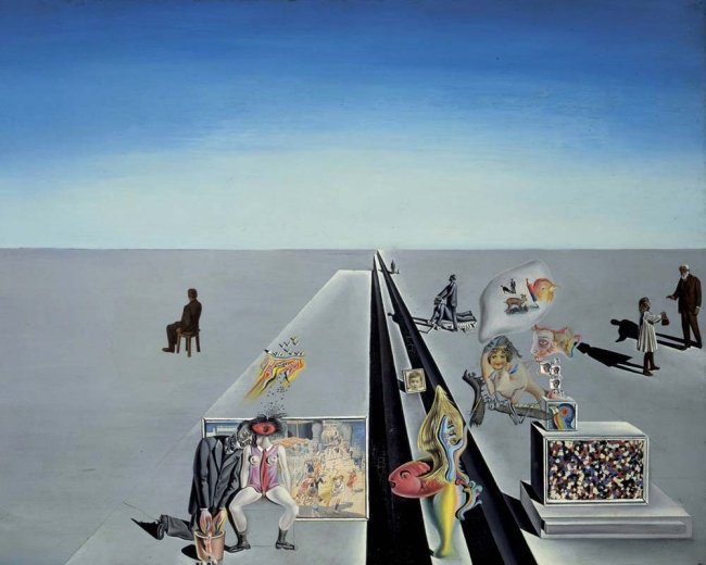 Salvador Dalí. 'The First Days of Spring' 1929