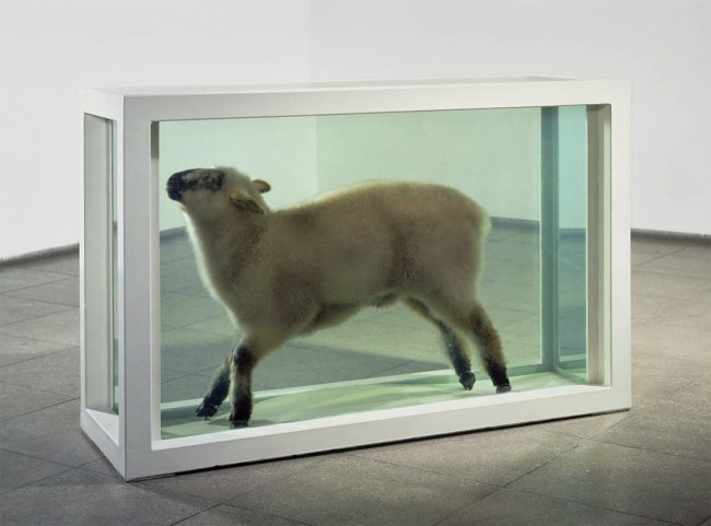 Damien Hirst (English, b. 1965) 'Away from the flock' 1995