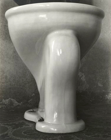 Edward Weston. 'Excusado' (Toilet) 1925