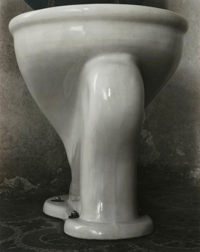 Edward Weston (1886-1958) 'Excusado' (Toilet) 1925