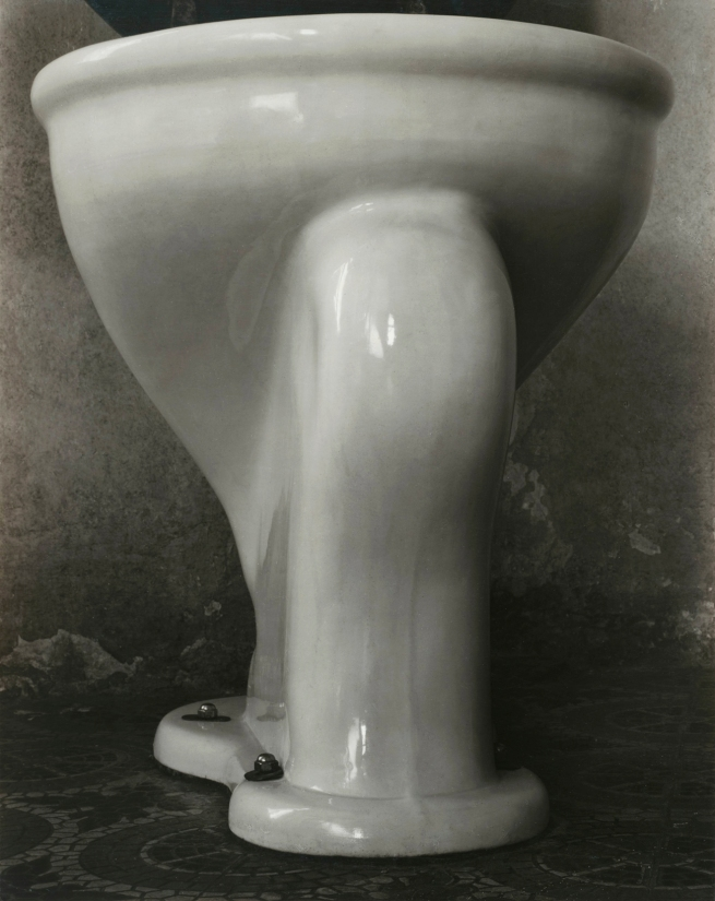 Edward Weston (1886-1958) 'Excusado' (Toilet) 1925