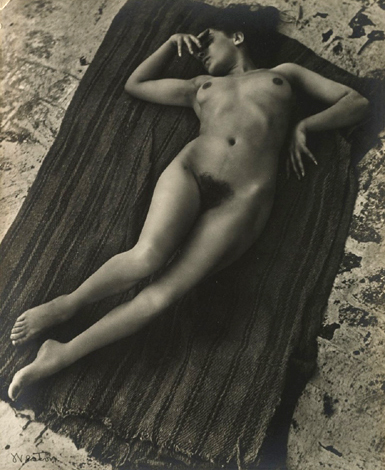 Edward Weston. 'Tina On The Azotea' circa 1924