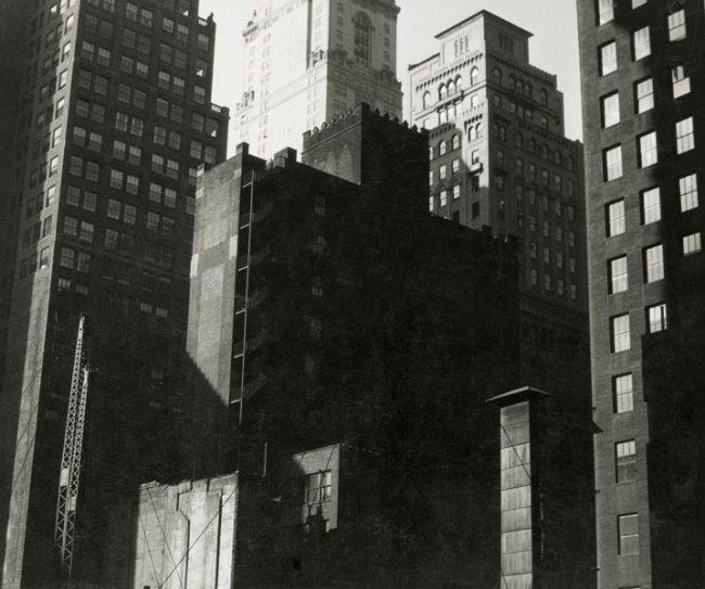 Walker Evans. 'Excavation for Lincoln Building, East 42nd Street and Park Avenue' 1929