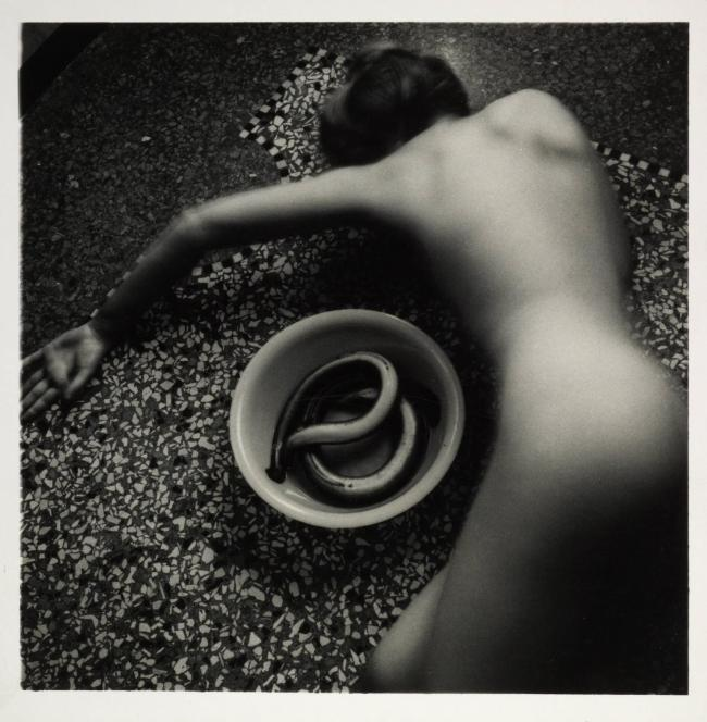 Francesca Woodman. 'Eel Series, Roma, May-August 1977' 1977