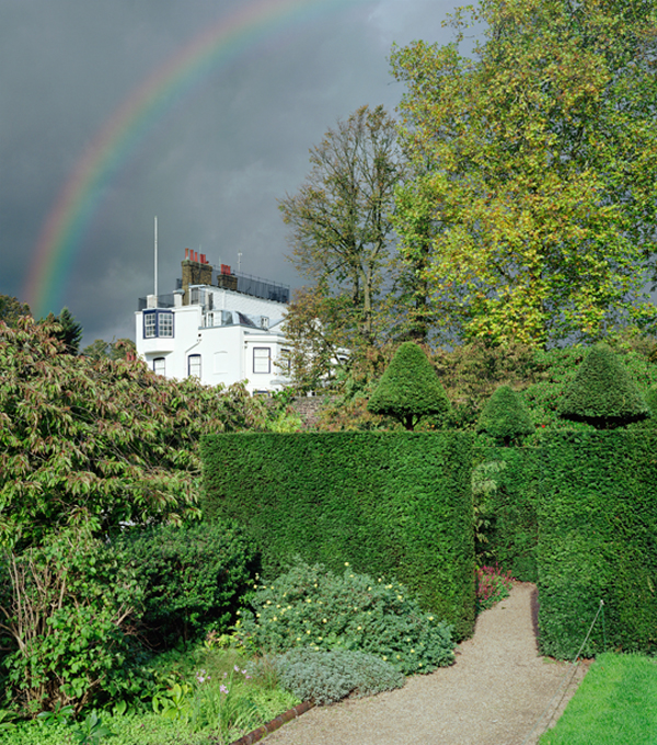 Scott McFarland. 'The Admiral's House as seen from the Upper Garden at Fenton House' 2006