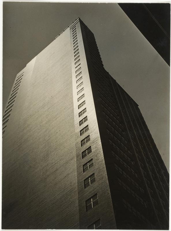 Lloyd Ullberg (American, 1904 – 1996). 'PSFS Building, Philadelphia' c.1932-33