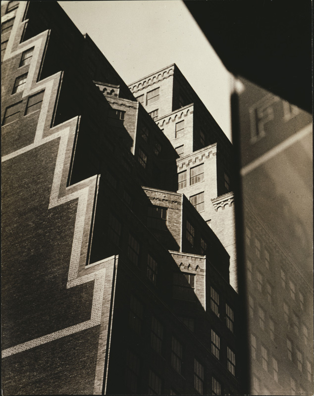 Sherril Schell (American, 1877 – 1964). 'Buildings on West 35th Street' c. 1930-32