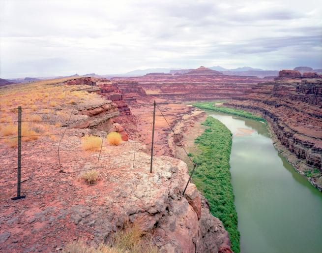 Karen Halverson(American, b. 1941) 'Shafer Trail, Near Moab, Utah' 1994-95