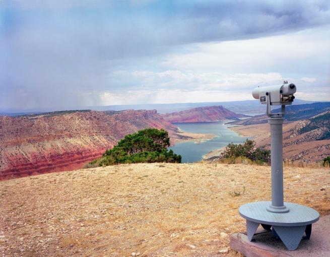 Karen Halverson(American, b. 1941) 'Flaming Gorge Reservoir, Wyoming' 1994-95