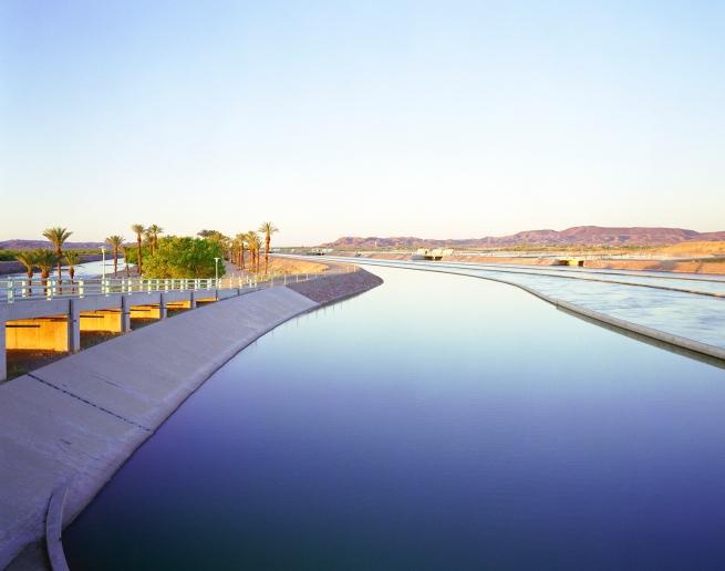 Karen Halverson(American, b. 1941) 'Imperial Dam, near Yuma, Arizona' 1994-95