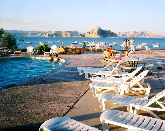 Karen Halverson(American, b. 1941) 'Wahweap Pool, Lake Powell, Arizona' 1994-95