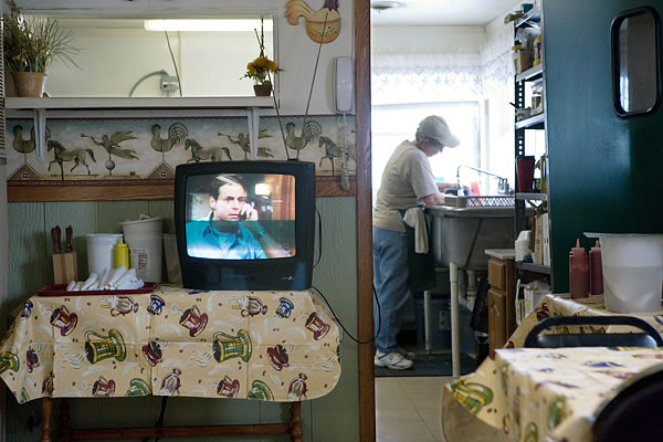 Kay Westheus. Lunch at the Crockpot, Walkerton (The Young and the Restless) 2007