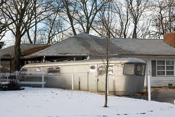 Kay Westheus. 'Parked trailer, Ligonier' 2006