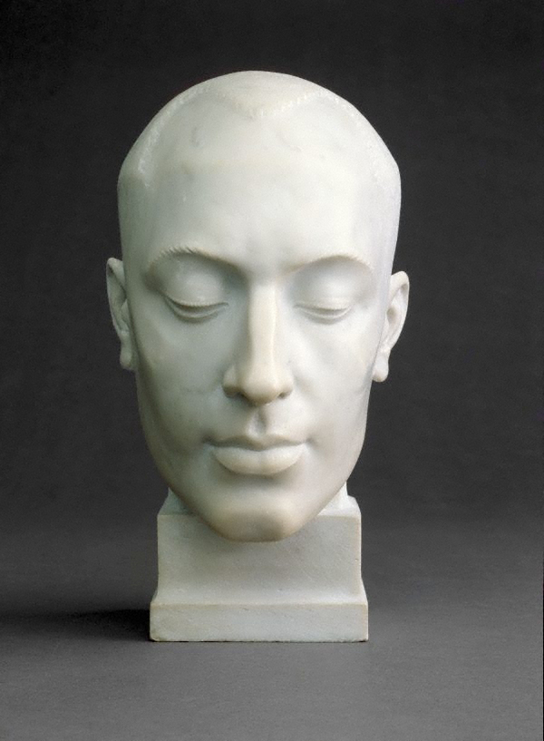 Rayner Hoff (United Kingdom, Australia 1894-1937) 'Decorative portrait - Len Lye' 1925