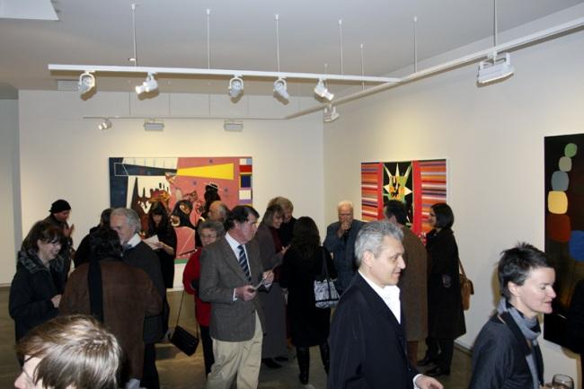 Gareth Sansom opening at John Buckley Gallery, Melbourne