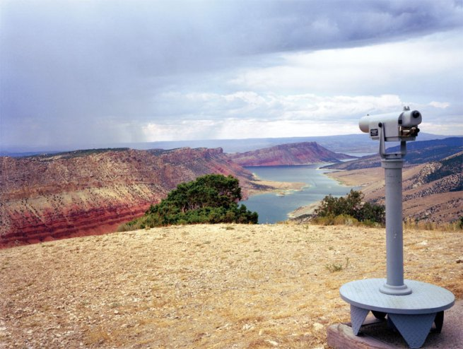 Karen Halverson. 'Flaming Gorge Reservoir, Wyoming' from the 'Downstream' series 1994-95
