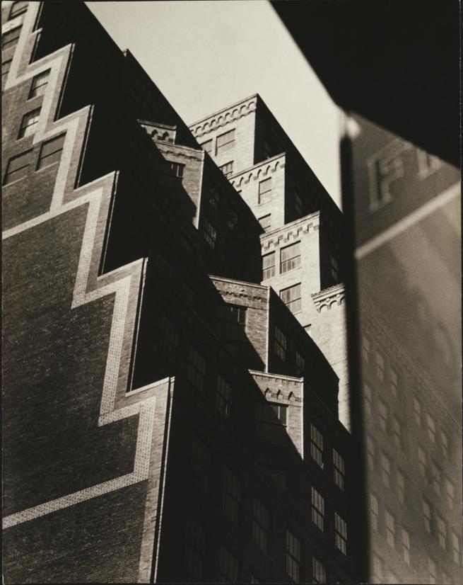 Sherril Schell (American, 1877-1964)' Buildings on West 35th Street' c. 1930-32