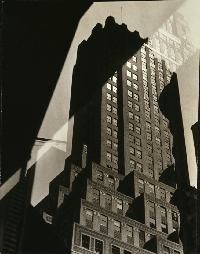 Sherril Schell (American, 1877-1964) 'Window Reflection - French Building' c. 1930-32