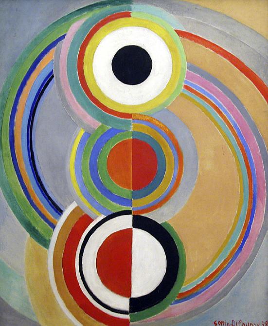 Sonia Delaunay. 'Rhythm' 1938