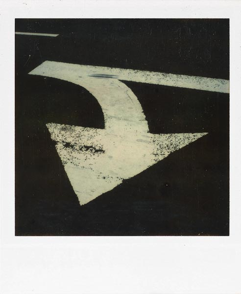 Walker Evans. 'Traffic Arrow' between 1973-1974