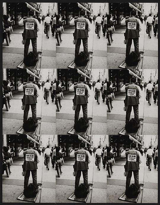 Andy Warhol. 'I am blind' 1976 -1986