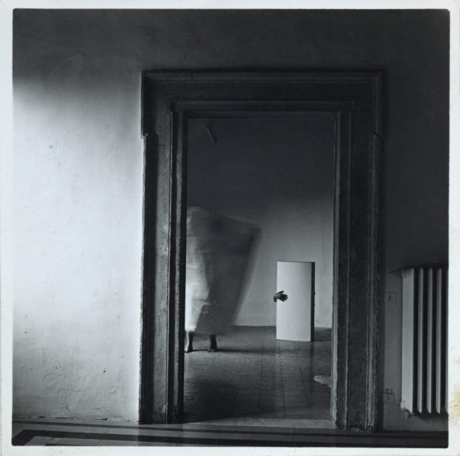 Fancesca Woodman.'From Angel Series, Roma, September 1977' 1977