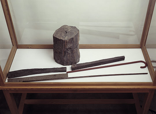 Joseph Beuys. 'Langhaus (Vitrine)' 1953 - 1962