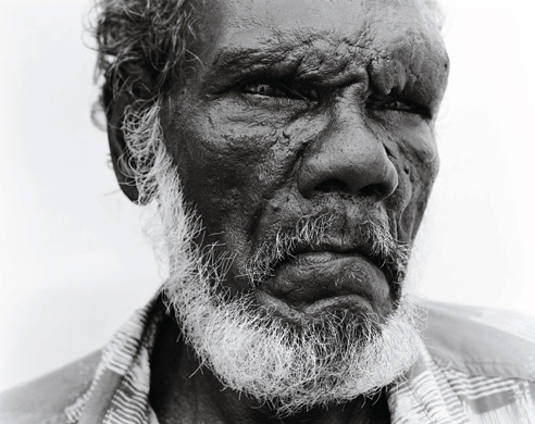 Ricky Maynard. 'Arthur, Wik Elder' from the series 'Returning to Places that Name Us' 2000