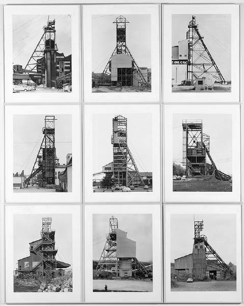 Bernd and Hiller Becher. 'Winding Towers' 1967