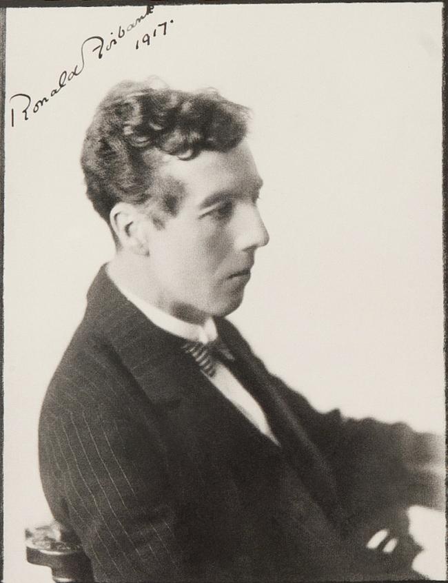 Bertram Park(British, 1883-1972) 'Ronald Firbank' 1917