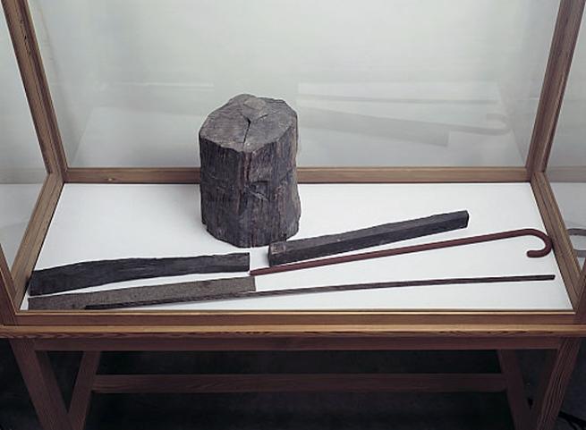 Joseph Beuys. 'Langhaus (Vitrine)' 1953-1962