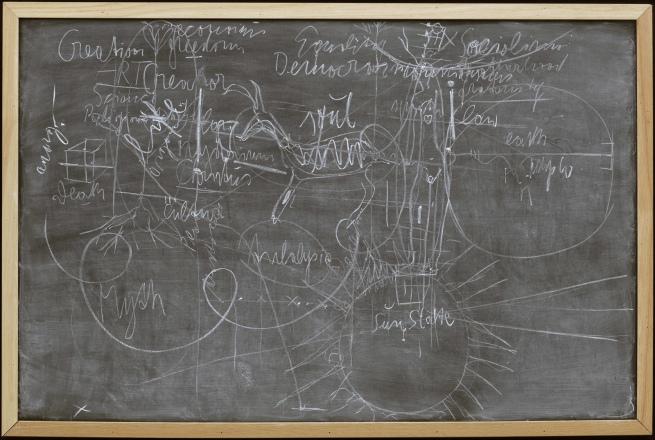 Joseph Beuys(German, 1921-1986) 'Untitled (Sun State)' 1974