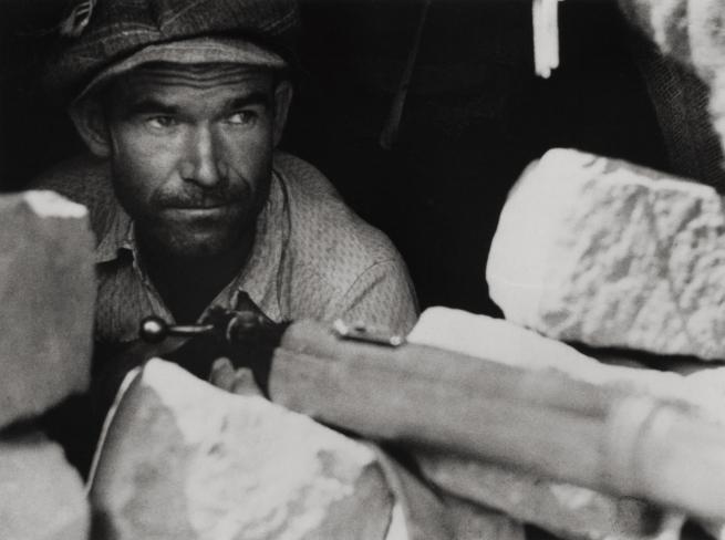 Robert Capa. 'Barcelona or its vicinity, August 1936. Loyalist militiamen.' 1936