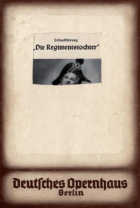 Tacita Dean. 'Die Regimentstochter' 2005