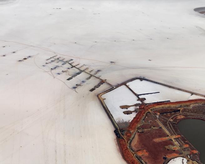 Edward Burtynsky. 'Silver Lake Operations #15 Lake Lefroy, Western Australia' 2007