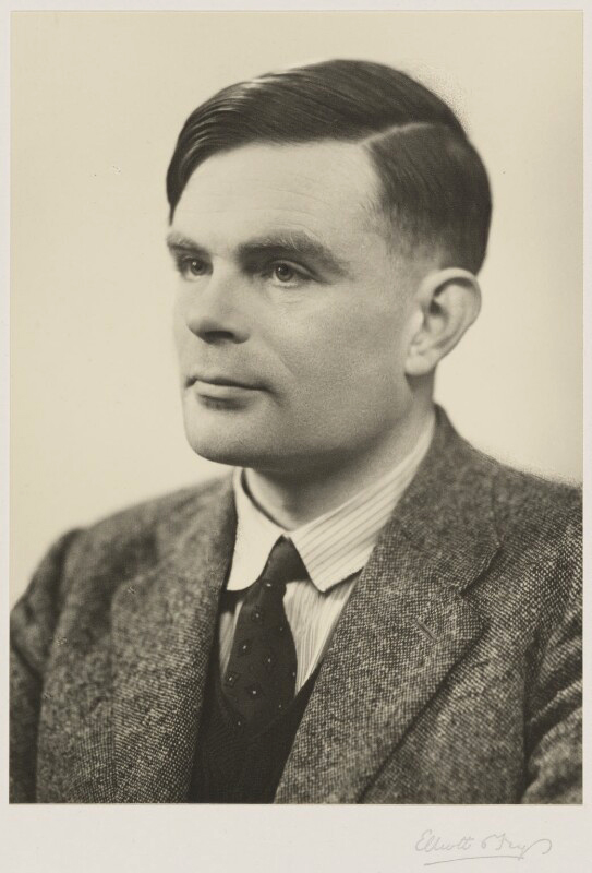 Elliott and Fry. 'Alan Turing' 29 March 1951
