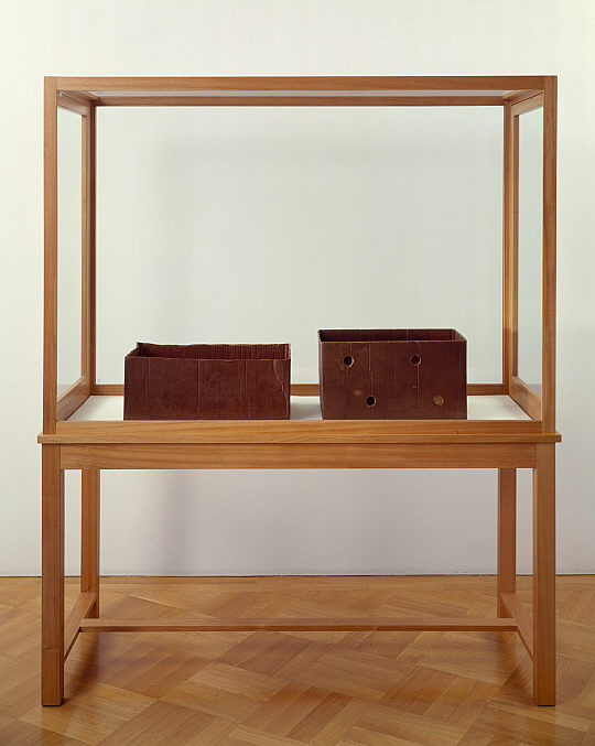 Joseph Beuys. 'Fettecke (Prozess) [Fat Corner (Process)]' 1968