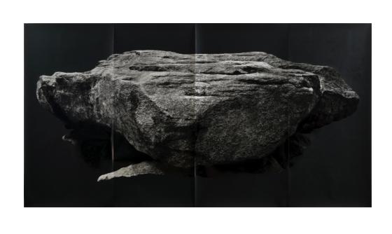 Tacita Dean. 'Grobsteingrab (floating)' 2009