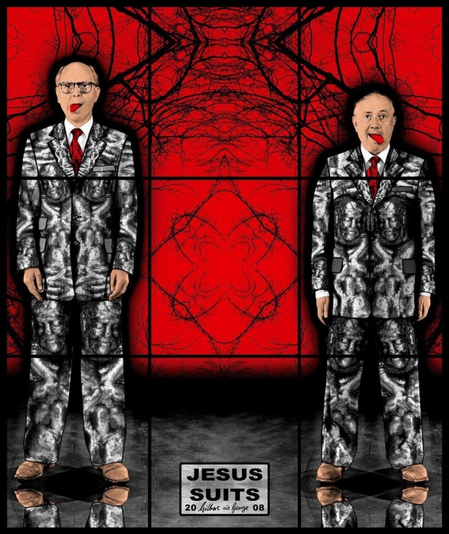 Gilbert & George. 'JESUS SUITS' 2008