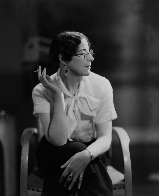 Howard Coster (British, 1885-1959) 'Sylvia Townsend Warner' 1934