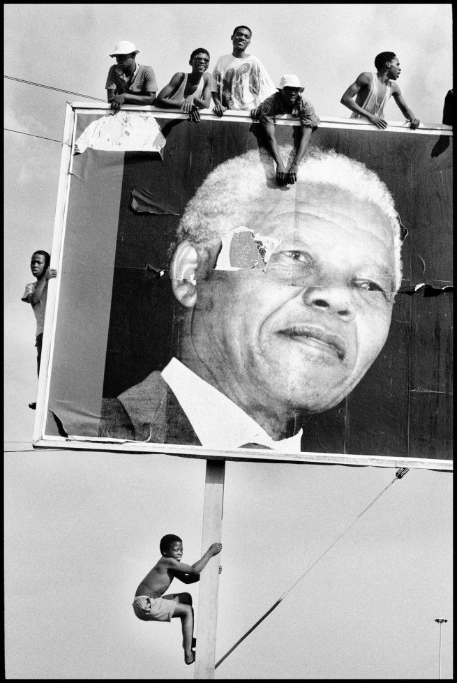 Ian Berry (British) 'Nelson Mandela' 1994