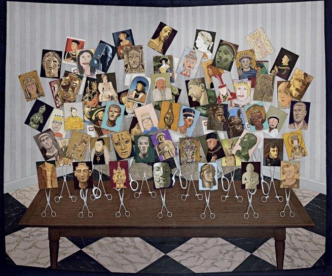 John Brack (Australian, 1920-1999) 'Kings and Queens' 1988