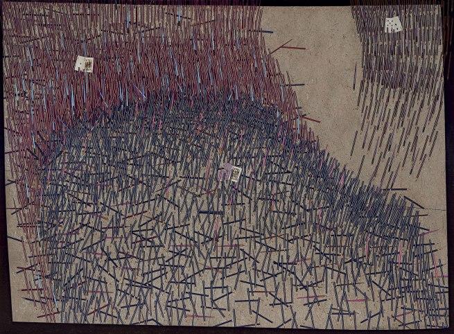 John Brack(Australian, 1920-1999)' The Battle' 19181-83